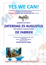 Yes We Can - MNM veiling 25 augustus